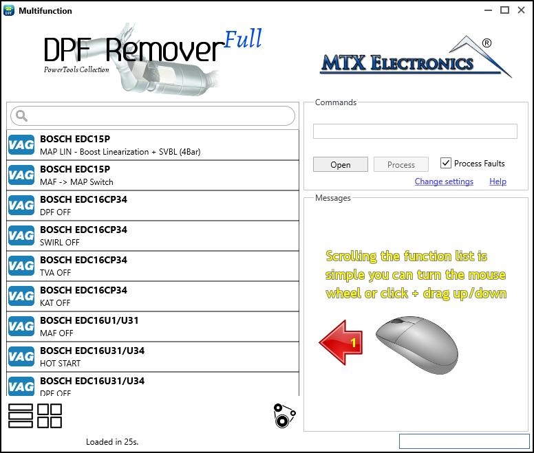 DPF Remover Software