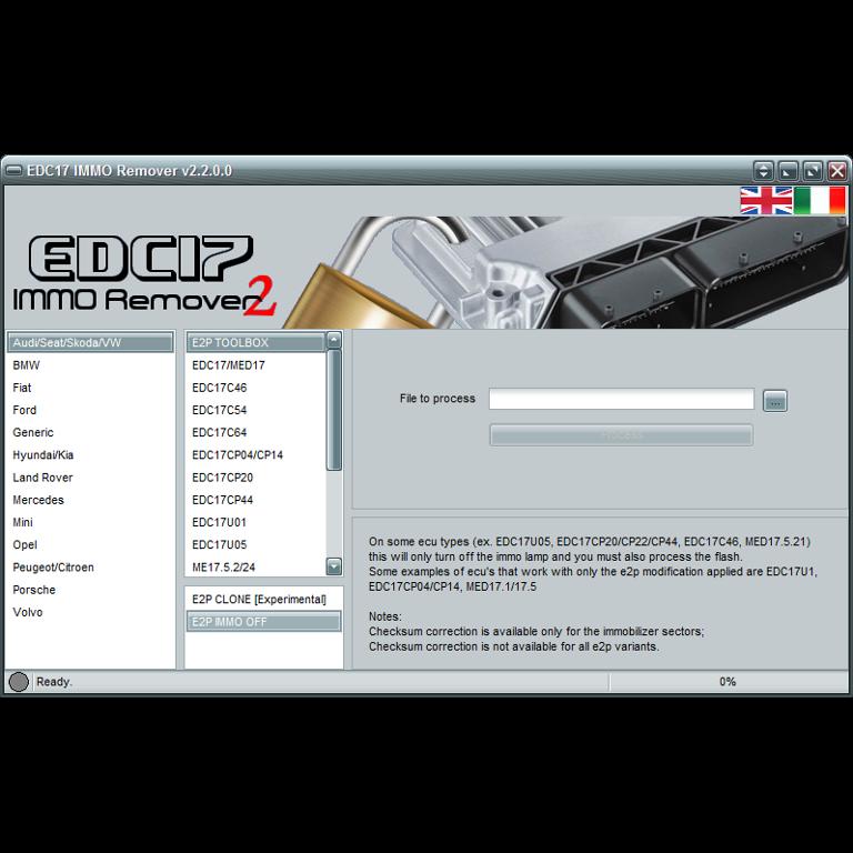 EDC17 Immon Remover