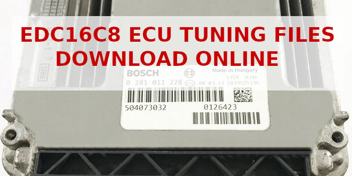 EDC16C8 ecu tuning files download
